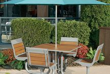 Wooden/Bamboo Picnic Tables / Wooden picnic tables and bamboo picnic tables provide a natural look that fits in both indoor and outdoor settings. These stylish tables are available in a variety of styles from traditional to modern.