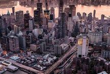 drone travels to cities