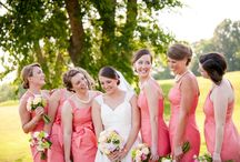 WP Weddings | Blush, Pink, Coral, Peach Tones / Wedding color inspiration: blush, pink, coral, peach tones | Wolfcrest Photography