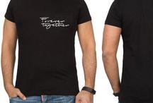 Heren T-Shirt met Print Forever Together