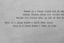 Canzoni / To build a home
