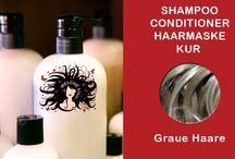 Empfohlene Haarpflege / Shampoo, Conditioner, Haarspülung, Haarmaske, Haarkur