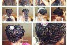 tie braids