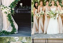 ivory blush gold wedding