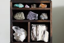 crystals, rocks, minerals