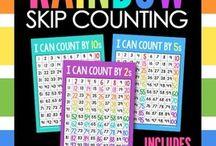 maths skip counting