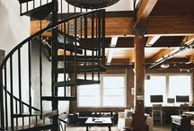 Industrial Apartments / A series of industrial architecture turned into homes. http://www.apartmentshowcase.com
