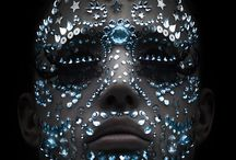 Jewelled faces