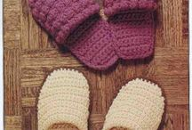 Specifically, slipper patterns for cold feet / by Francesca Teresa