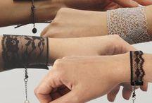 pulseiras de rendas