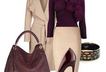 Elagant outfit ideas / Elegant outfit ideas: combination of clothes, jewelry, shoes, bags and the other accessories