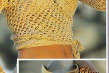 Crochet bikini/tops