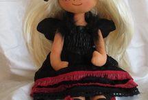 Helena - Moje tvorba / Mé panenky, Andělky a další dekorace....