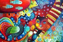 Peintures, sculptures...