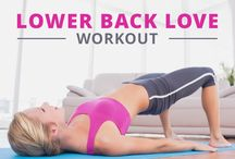 Lower back dimples workout