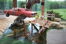 Awesome Car Model Dioramas