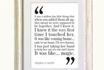 Movie Quote Wall / by Bella Bobbin