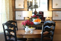Dining Spaces / by Debbie Barefoot