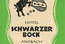 Schwarzer Bock Hotel Ansbach / Bilder von einst & heute: Schwarzer Bock - Authentisch Ansbach