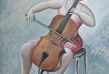 el mundo de la música en las artes plásticas
