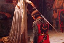 Edmund Blair Leighton / A board of paintings by one of my favourite artists