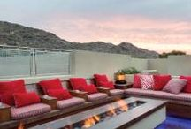 Spectacular Fire Pits & Fire Places