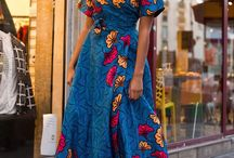 Long afrika dress