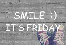 friday / smile, it's friday