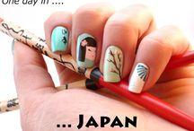 Honeymoon nails