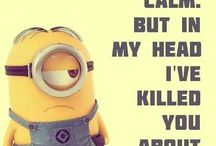 Minion mayhem / Being one of Valerie Parv's minions, how can I not love these little guys?