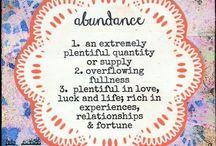 Creative Abundance ❤