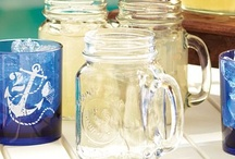 Mason Jar Obsession :) / Madon jars are the cutest!! Can do so much with them :) very classy / by Alyssa Olson