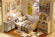 Miniatures and doll house pics.