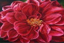 Best flower painting:  Creating flowers paintings