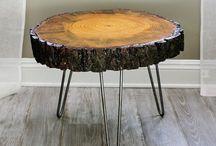 Træ borde