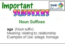 Know Your Suffixes