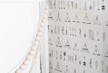 (kinder) behang