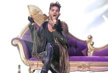 Adam + Queen / They're a 'Kinda Magic'.  Have seen QAL 13 times  & Adam solo 12 times all over the world.