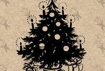 Vintage clipart - Holidays