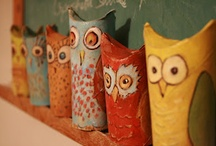 CRAFTS FOR TOILET PAPER ROLLS / by Nancy Huntington