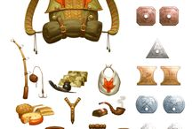 Item designs. / Reference images .