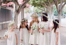 Blumenmädchen und Jungs