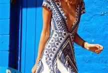 Blue China prints