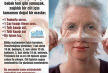 Botoks etkisi yapan yüz maskesi