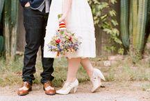 backyard reception / Outdoor wedding reception ideas