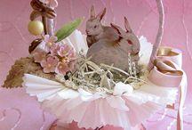 Easter baskets decor