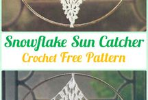 crochet snowflakes free patterns