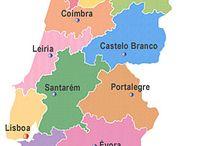 Portugal-Mapa Distritos