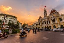 Ho Chi Minh / Ho Chi Minh City (HCMC) is Vietnam at its most dizzying: a high-octane city of commerce and culture that has driven the country forward with its pulsating energy. A chaotic whirl, the city breathes life and vitality into all who settle here, and visitors cannot help but be hauled along for the ride. https://goo.gl/ib6E9T ------------------  #vietnam #asia #landscape #paisaje #nature #naturaleza #travelblogger #travel #viajar #viaje #viajes #instatravel