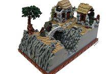 Lego Land / Miniature worlds full of drama